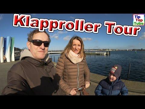 Klapproller Tour | Mit dem Klapproller durch Kiel | Vlog TipTapTube
