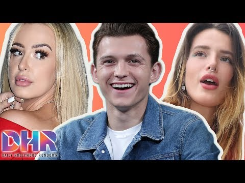 Fans DEFEND & REACT To Tom Holland's New Woman! Bella Thorne FEUDING With Tana Mongeau! (DHR)