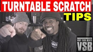 How To Scratch on Turntable   DJ RedHanded
