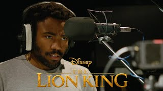 THE LION KING: Donald Glover Behind The Scenes With Beyonce | Exclusive Interview