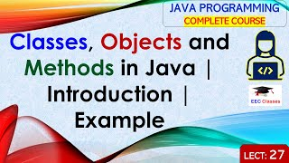 Introduction to Classes, Objects and Methods in Java with example