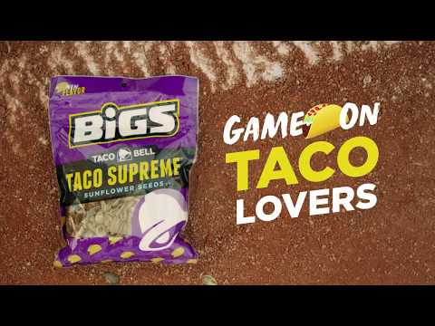 Taco Bell and BIGS Unleash Drones to Promote Co-Branded Sunflower Seeds