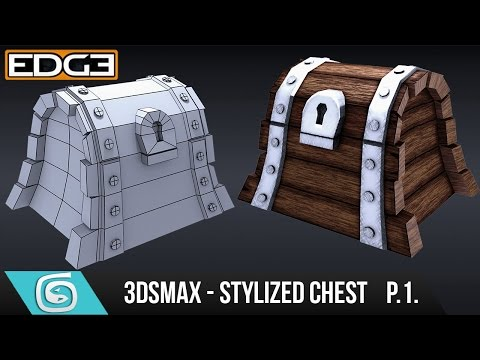 3Ds Max Tutorial for Beginners – How to create a Stylized Chest – Modelling [Part 1]