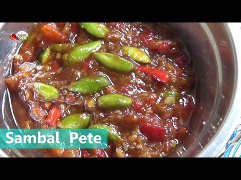 Video Cara Membuat Sambel Pete - Resep Dapur Syifa