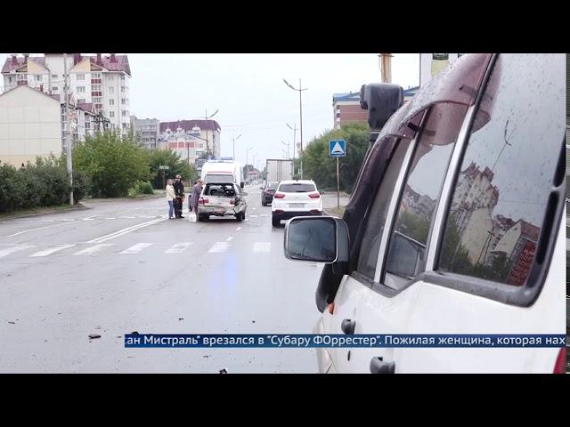 Пожилая ангарчанка пострадала в ДТП