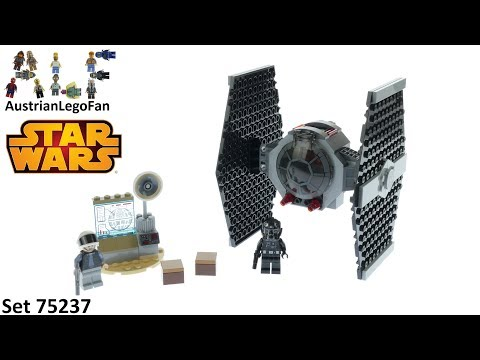 Vidéo LEGO Star Wars 75237 : L'attaque du chasseur TIE