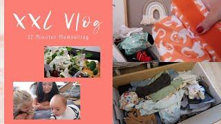 XXL Vlog 30 Minuten I Stoffwindeln und selbstgemachte Feuchttücher I Geschenk für die Hebamme I Bea