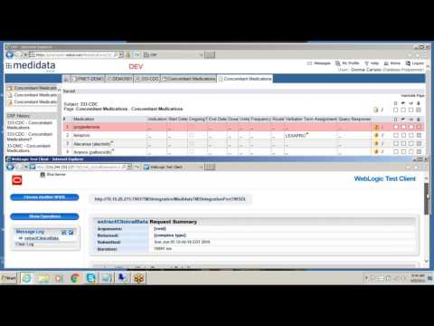 Video TMS 5.1 and Rave Integration demo