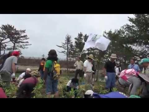Inochi No Mori (Forest of Life) Relay Tree-planting Ceremony