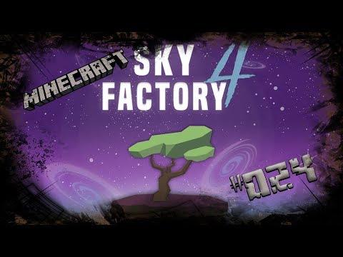 ⛏ Der erste Strom ⛏  - Minecraft Sky Factory 4 #024 - Let´s Play   German