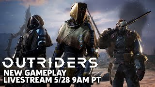 Outriders New Gameplay Livestream | Outriders Broadcast #1