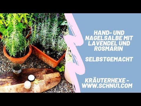 HAND- UND NAGELSALBE mit Lavendel und Rosmarin selbstgemacht