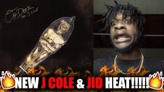 J.I.D   Off Deez (Audio) Ft. J. Cole (REACTION!)