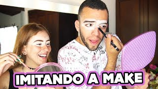 TENTEI IMITAR A MAKE DA MARI MARIA (ft. Mari Maria)