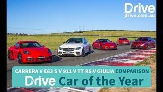 2017 AMG E63, Giulia, TT RS, Cayman, 911 | Best Performance Car Over $60K