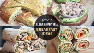 Healthy Savory Breakfast Ideas: Gluten Free Dairy Free