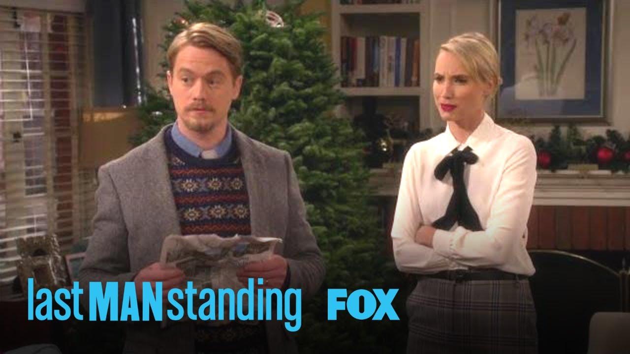 Mandy & Kyle Help Hang Some Ornaments | Season 7 Ep. 9 | LAST MAN STANDING