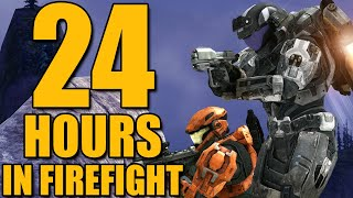 Can We Survive 24 Hours In HALO Firefight? (ODST And REACH)