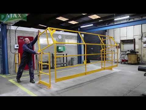 7. Canal Engineering | AJAX: 4m Pallet Gate Safety Barrier