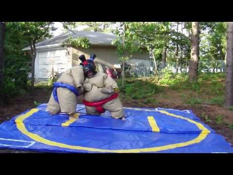 Funny Sumo Suit fight