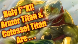 OMG REALLY? Colossal & Armored Titan IDENTITY REVEAL! Attack on Titan Season 2 | Foxen Anime Review
