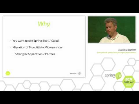 Spring Boot and Cloud for Legacy Applications