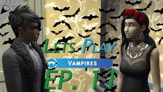 Lets Play Sims 4 Vampires | Part 11 | Training OffSpring!!!