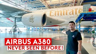 Inside Emirates Engineering – How Did They Bring an A380 Back to Life?