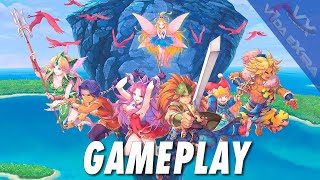 Trials of Mana - Gameplay de la demo