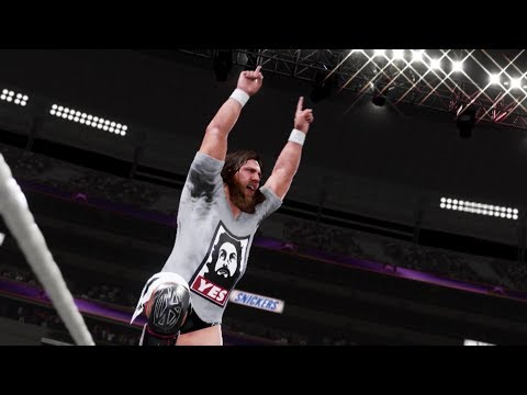 WWE 2K19 Daniel Bryan Showcase Gameplay thumbnail