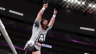 WWE 2K19 Daniel Bryan Showcase Gameplay