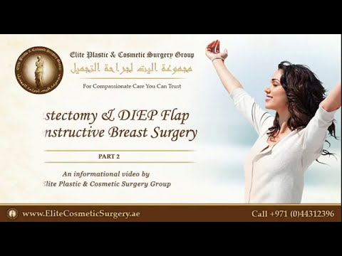 Breast Reconstruction with DIEP Flap - Part 2