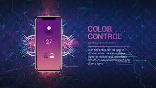 Technology App Promo After Effects Template