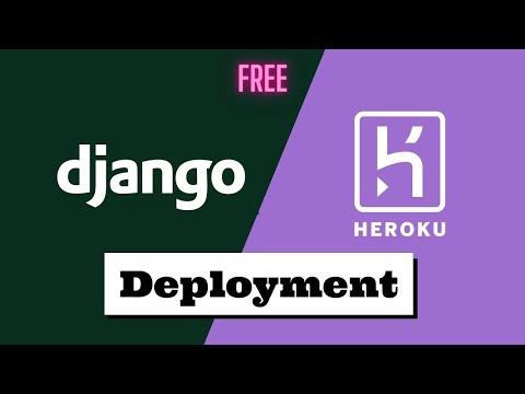 Free 2020 Django Website Hosting in 5 Minutes - Heroku