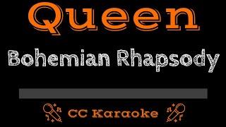 Queen • Bohemian Rhapsody (CC) [Karaoke Instrumental Lyrics]