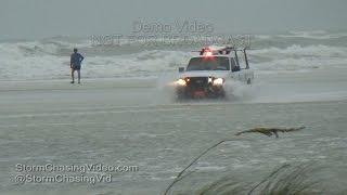 Hurricane Hermine Floods Siesta Key, FL - 9/1/2016