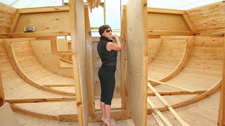 ⚫ The Amazing Construction of a Homemade Yacht in the Backyard? 5 years in 21 minutes.