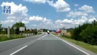 preview picture of video '[Schengen] Mikulov - Drasenhofen 07/14'