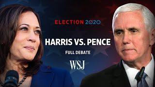 Full Debate: Vice President Mike Pence and Sen. Kamala Harris | WSJ