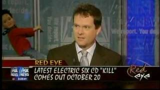 Dick Valentine on Red Eye 10 October 2009