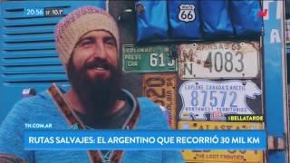 Rutas salvajes: El argentino que recorrió 30.000 km