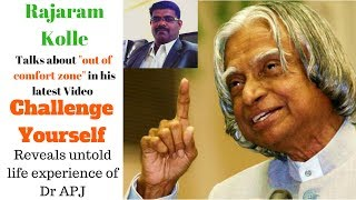 Challenge Yourself (English)| Motivational Talk On How To Face Challenges In Life| By Rajaram Kolle