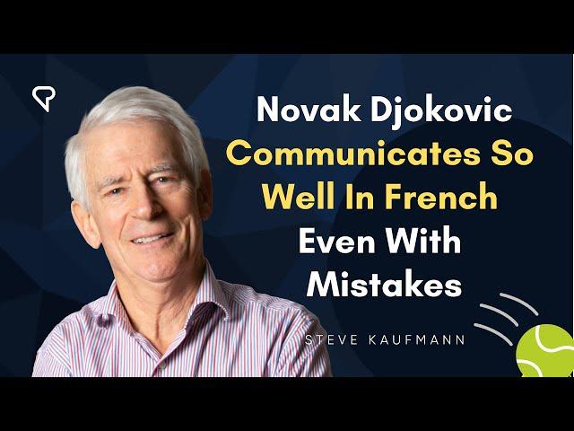 英語のDjokovicのビデオ発音