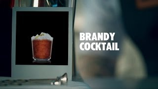 BRANDY COCKTAIL DRINK RECIPE - HOW TO MIX