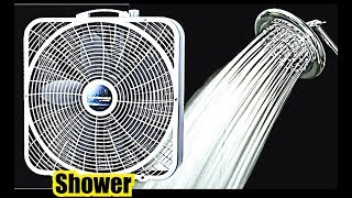 FAN IN THE SHOWER ! 10 Hours of SHOWER SOUND + FAN SOUND WHITE NOISE SLEEP