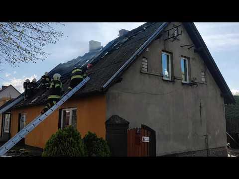 Wideo1: Pożar domu we Włoszakowicach