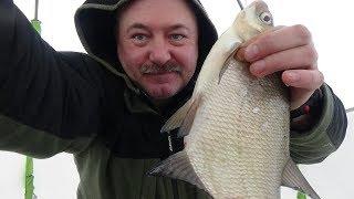 Ловля зимой на десногорском водохранилище