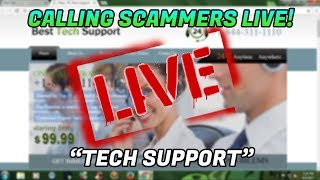 REFUNDING TECH SUPPORT SCAM VICTIMS!
