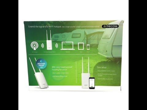 Review Sitecom Wifi Outdoor hotspot repeater WLX2100