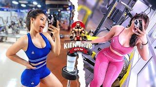 Bài Tập Mông Đùi Siêu TRÒN, Đầy Đặn Của Hotgirl Phòng Gym | NGUYỄN TRÀ MY